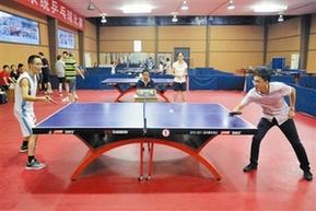 桐庐:省农广校系统乒乓球比赛精彩开赛