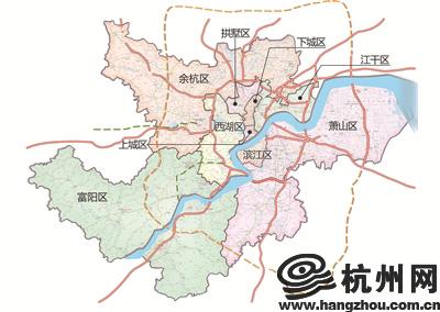 新版杭州市区地图周末开卖