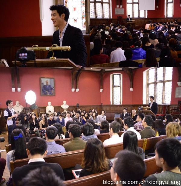 王力宏牛津大学演讲-周杰伦北大演讲引轰动 走进牛津北大的十大明星图片