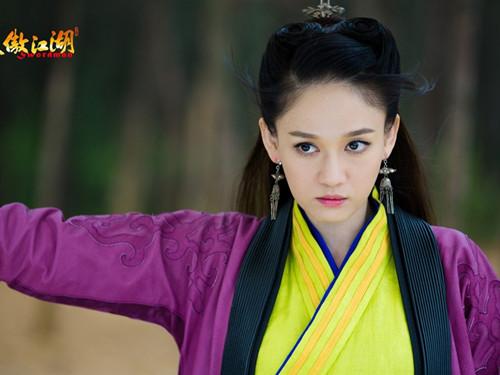 陈乔恩在《笑傲江湖》中饰演的东方不败