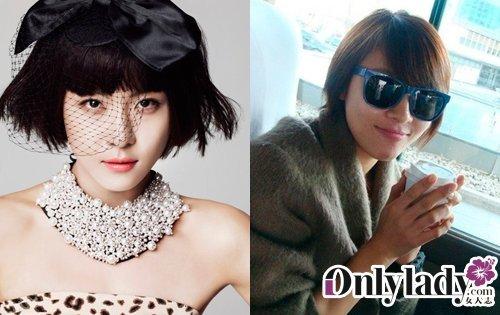 盘点明星卸妆后的样子 韩国明星卸妆后的样子 明星卸妆后的样子
