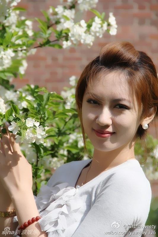 图为北大校花袁佳怡生活照