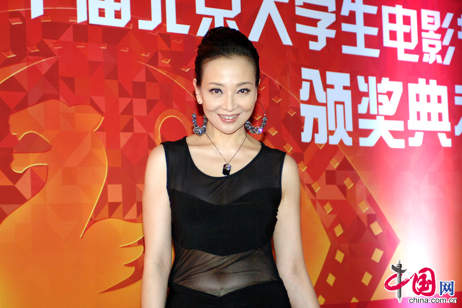 北京/5月13日晚,第20届北京大学生电影节在北京奥体中心举行闭幕...