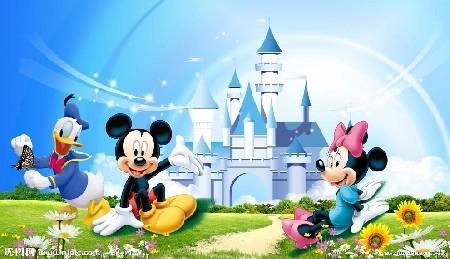 迪士尼城堡简笔画步骤图