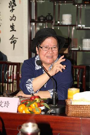 叶文玲女士(颜海啸 摄)图片