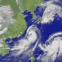 """艾利/台风""""艾利""""卫星云图"""