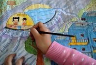 秀洲:學生繪畫 關注熱點