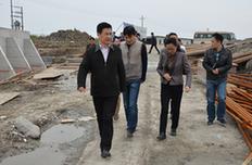 秀洲:朱海平調研水利工程設施建設