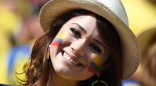 世界杯:美女球迷