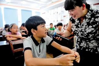 秀洲:韓國小學生暑期學方言