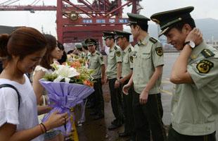 寧波:警民共度七夕佳節