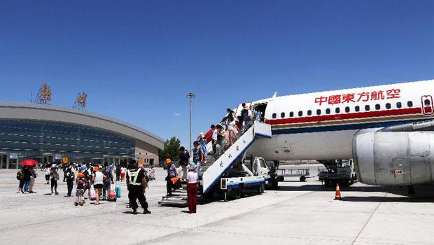 郑州到敦煌的飞机