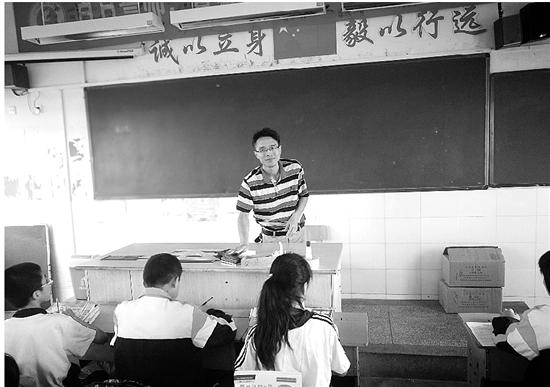 衢州徐向荣每天三次透析 坚守三尺讲坛