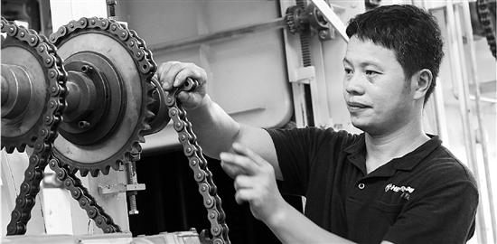 张仕恒:从学徒工成长为金华首席技师