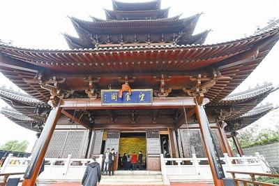 杭州城北新地标 望宸阁正式开放