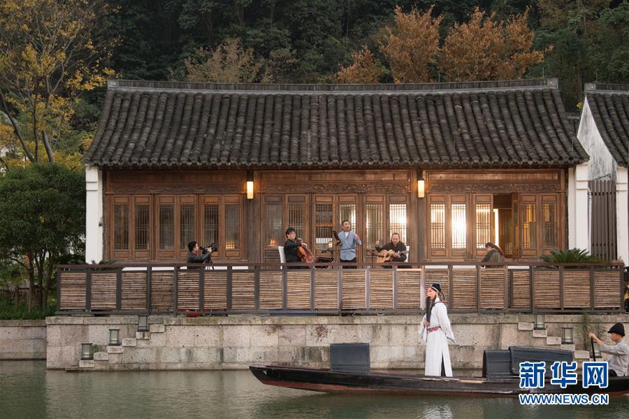 江南山水间的音乐雅集