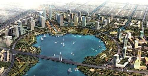 大江东打造城市功能综合区 地铁8号线从这里呼啸而过