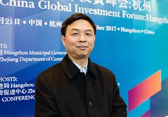 杭州市來杭投資企業聯合會常務副會長葉水泉接受採訪