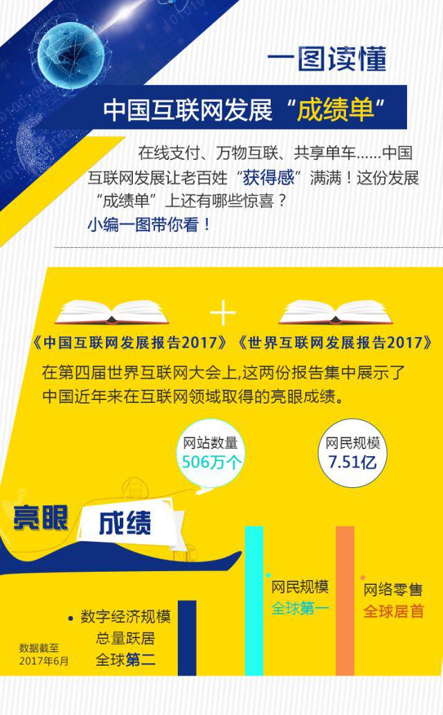 """中国互联网发展""""成绩单"""""""