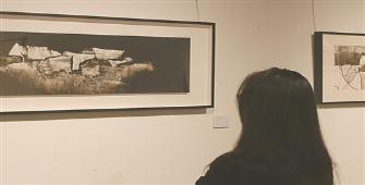 宁波美术馆展出当代水墨作品