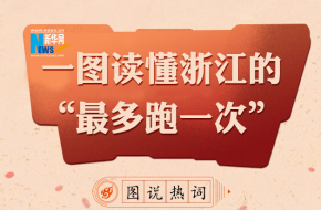 """图说热词:新一年如何看浙江的""""最多跑一次"""""""