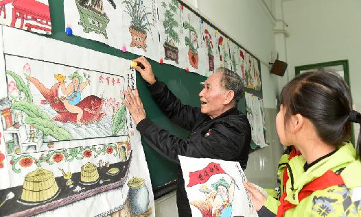 杭州:灶头画进校园