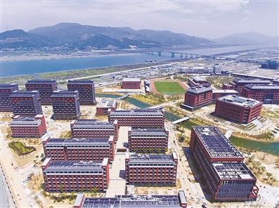 宁波大学 梅山校区 初展身姿