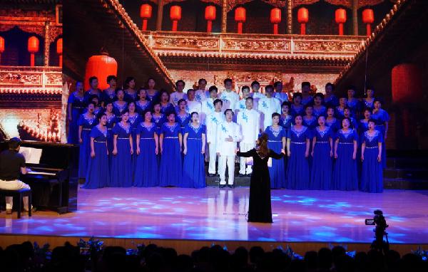 """宁波东郊街道""""七一""""专场音乐会暨""""锋领在线""""系统启动仪式举行"""