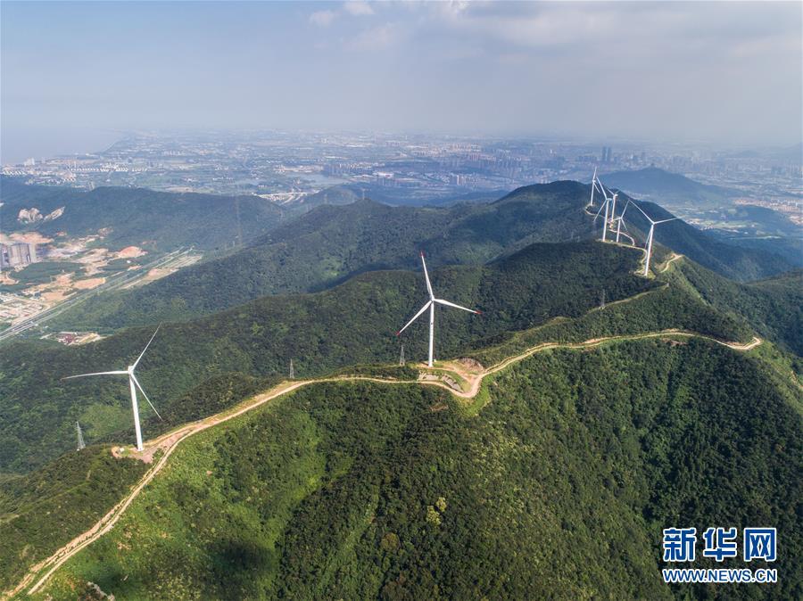 浙江首个低风速风力发电项目累计发电近1.5亿度