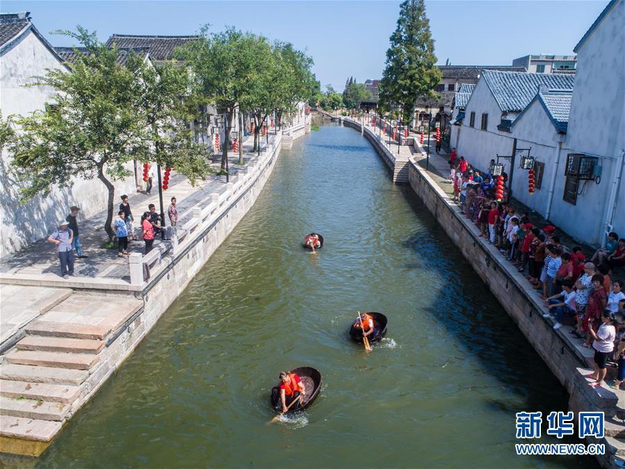 南太湖古村举办水乡民俗文化节