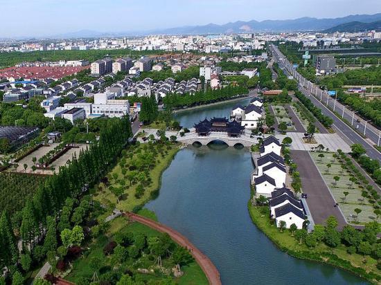 乡村,让城市更向往 奉化滕头村向绿色发展要动能