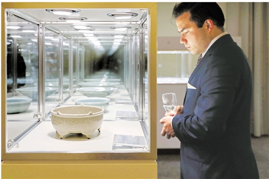 85件珍品亮相联合国总部 龙泉青瓷秀出国际范