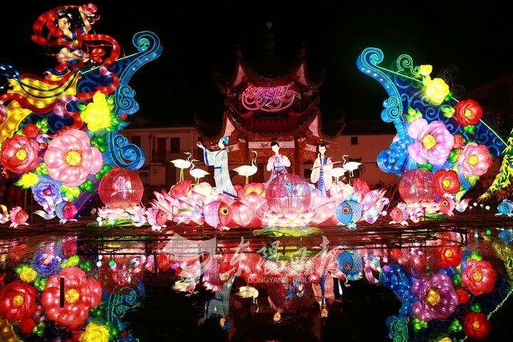 东阳小城镇环境综合整治植入特色产业 花灯照亮致富路