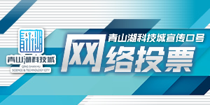 青山湖科技城策劃宣傳口號投票