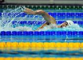 杭州短池遊泳世錦賽比賽泳池進入注水試運行階段