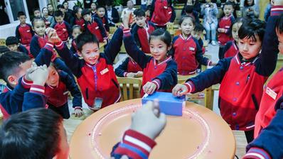 浙江慈溪:公益課堂體驗身邊的科學