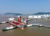 浙江舟山首次跻身全球十大供油港 结算量占全国50%