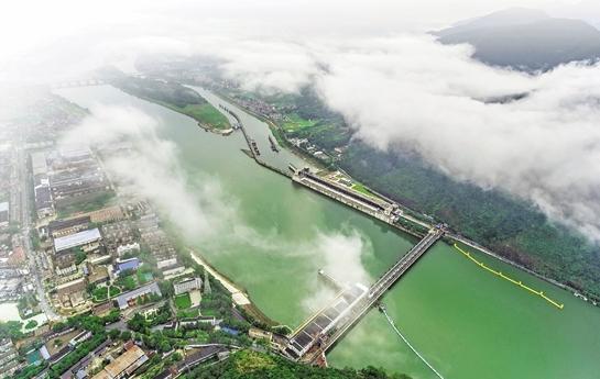 沿著這條浙江人的母親河,一條融合發展走廊呼之欲出——舟行錢江連山海