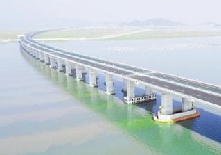 接山连海拥湾区 宁波再添跨海桥