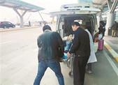 独行孕妇萧山机场临产 遇到机场派出所民警和医务人员接力救援
