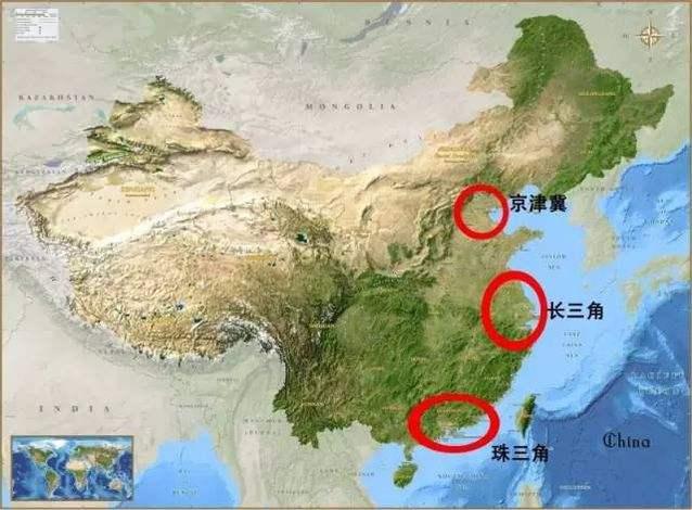 长三角、珠三角和京津冀三大城市群 占全国经济总量40%以上