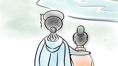 【精美手绘】那个让孙权母亲驻足的浙江小村,如今这般惊艳