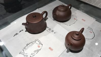 亚洲美食节展出《七十三壶图》复原紫砂壶丨本网专稿
