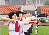 有这么一群少年,每天放学后都要射出一百多箭,草靶被射出了窟窿