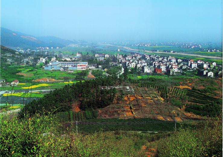 瑤山祭壇(tan)墓葬遺址全景(jing)