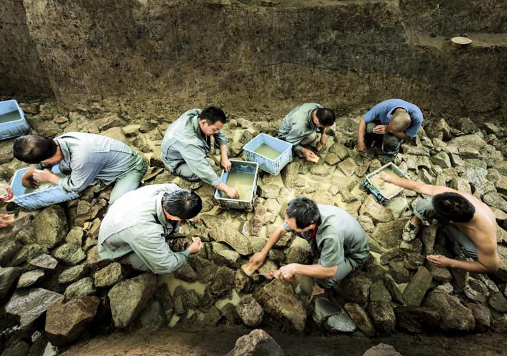 考古發掘工作現場