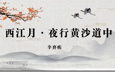 《西江月》:稻花香里说丰年