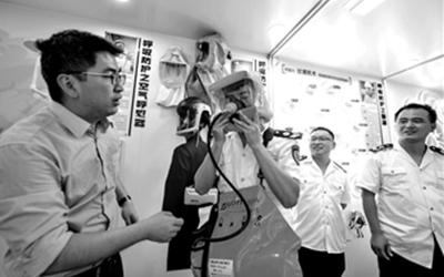 浙江長興:職業衛生現場執法實訓