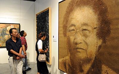全國美展綜合材料繪畫展在寧波舉辦