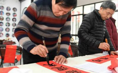 浙江湖州:乡村热闹迎新春